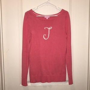 """Lilly Pulitzer """"J"""" Marielle Sweater Size M"""